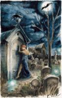 Dantova galerie: Plakát pro GP VIII, akvarel